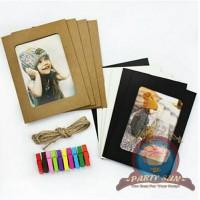 Frame foto gantung polos/ frame photo kertas/ hanging foto