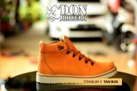 Sepatu Pria Ankle Boots Cowok Murah Dondhicero Titanium Tan Buk