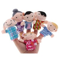 boneka jari seri keluarga