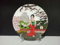 Souvenir oleh oleh luar negeri piring Japan dari negara Jepang