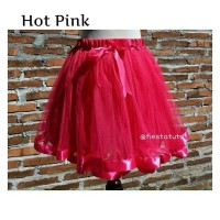 tutu ribbon - rok tutu - hot pink