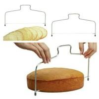 cake slicer alat potong cake pisau potong roti dekorasi kue spuit