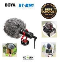 Microphone Boya BY MM1 CardioId Shotgun mic DSLR / Handphone