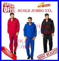 Jas Hujan ACOLD Size Jumbo 5XL -Best Quality Mirip Eiger & Doqment-