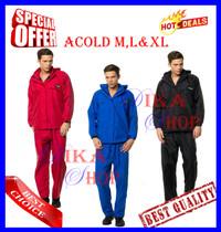 Jas Hujan ACOLD Size M, L dan XL -Best Quality Mirip Eiger & Doqment-