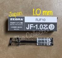 ATK432SR RJF10-BK HITAM 1.0 mm isi pen sarasa refill zebra JF 1,0 BLAC