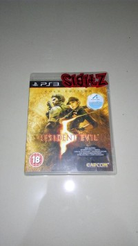 bd PS3 kaset game RESIDENT EVIL 5 GOLD EDITION
