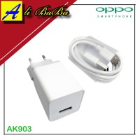 Charger Handphone Oppo AK903 Fast Charging Oppo F1 F1S F2 F3 Cas HP