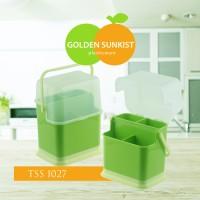 Tempat Sendok dengan Tutup Golden Sunkist (TSS 1027)