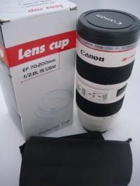 Gelas Mug Lensa Kamera Canon 70-200mm Jumbo Collector TERMOS B288