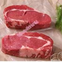 Daging Sapi Impor AUS Rib Eye / Cube Roll Beef Steak Grade A 200gr