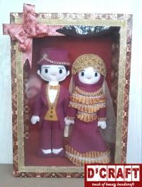 Boneka Pengantin Flanel Box (1)