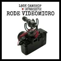 MICROPHONE / MIC RODE VIDEOMICRO / VIDEO MICRO