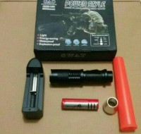 senter police /swat mini c80 power style