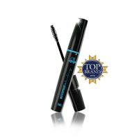 Ql Cosmetic - Waterproof & Curling Mascara Black 8 ml