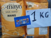 mayo mayonaise original sweet 1kg omayo. sumber frozen makmur