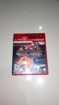 bd ps3 kaset mortal kombat komplete edition
