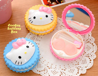 Cookies Softlens Box HELLO KITTY (Kotak softlens bentuk Cookies)