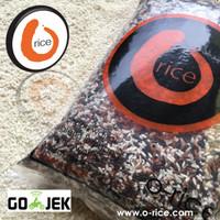 Beras Organik O-Rice Mix (Putih, Cokelat, Merah & Hitam) 2kg