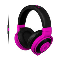 Razer Kraken Neon Purple - Analog Music & Gaming Headphones