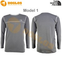 Promo Baselayer TNF The North Face Long Sleeve Quickdry Hikin PG-35N B