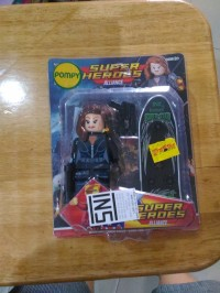Big Figure Lego Black Widow