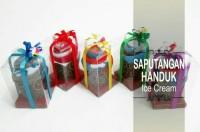 SOUVENIR SAPUTANGAN HANDUK ICE CREAM / TOWEL CAKE /SOUVENIR HANDUK KUE