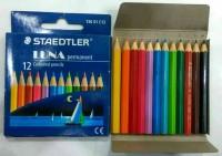 Pensil Warna 12 Colors Staedtler Luna Permanent