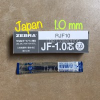 ATK0433SR RJF10-BL BIRU 1.0 mm isi pen sarasa refill zebra JF 1,0 BLUE