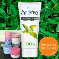 [share 10gr] St Ives - Green Tea Blackhead Clearing Scrub