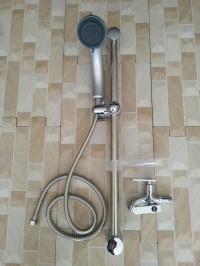 shower tiang set /shower tiang plus keran cabang