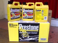 Prestone Radiator Super Coolant (Concentrated) - 136 CELSIUS - 1 Liter