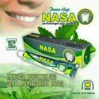 Pasta Gigi Nasa Pemutih Gigi & Pembersih Karang Gigi / Odol Herbal.
