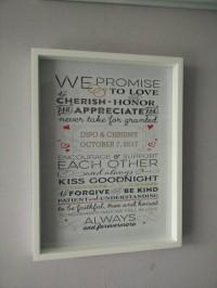 Hiasan dinding wooden poster quote untuk kado wedding pernikahan