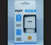 Charger Vizz Power IQ 2USB Output 2.4A