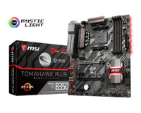 MSI B350 Tomahawk Plus AMD Socket AM4