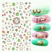 Christmas Edition Nail Sticker / Stiker Kuku Natal (Part 2/2)