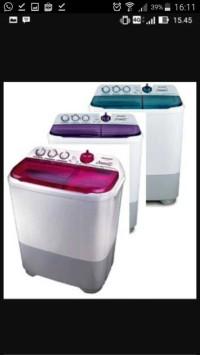 harga Sharp mesin cuci es-t95cr-pk 2 tabung 9 kg 95cr Tokopedia.com
