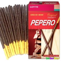 Pepero Original Chocolate | Biskuit Korea Cemilan Good Product