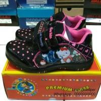 MKids 1 - Sepatu Sekolah Tk Sd Anak Perempuan Hitam Lucu