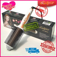LADYSTAR LS- 605 ELECTRIC BRUSH STYLER ROLL STRAIGHT COMBO SISIR CATOK