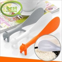 Centong nasi sendok bubur berdiri bentuk tupai lucu