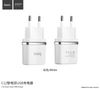 C12 Smart dual USB charger (EU)