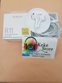 Handsfree Earphone Oppo R11 Headset Original New Earpod