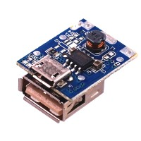 Modul Powerbank 1 Slot Charger + Step Up + Protection 5v Module Cas