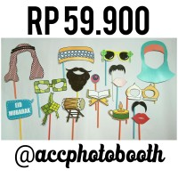 Photobooth Props Acc photobooth Property Photo prop (RAMADHAN)