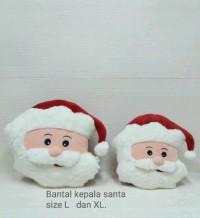 Bantal Natal Santa/ Rusa/ Snowman / Star (35cm)