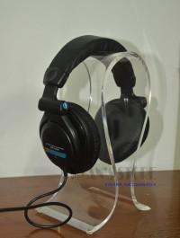 Stand Dudukan Gantungan Headphone Headset Holder Hanger Arcylic