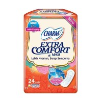 CHARM Extra Comfort Maxi Non Wing 24 pads
