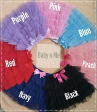 Skirt Tutu -Rok Tutu Layer Lucu -Fashion Anak Kids